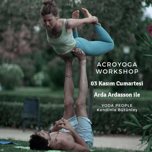 AcroYoga Başlangıç ve İleri Seviye Workshop