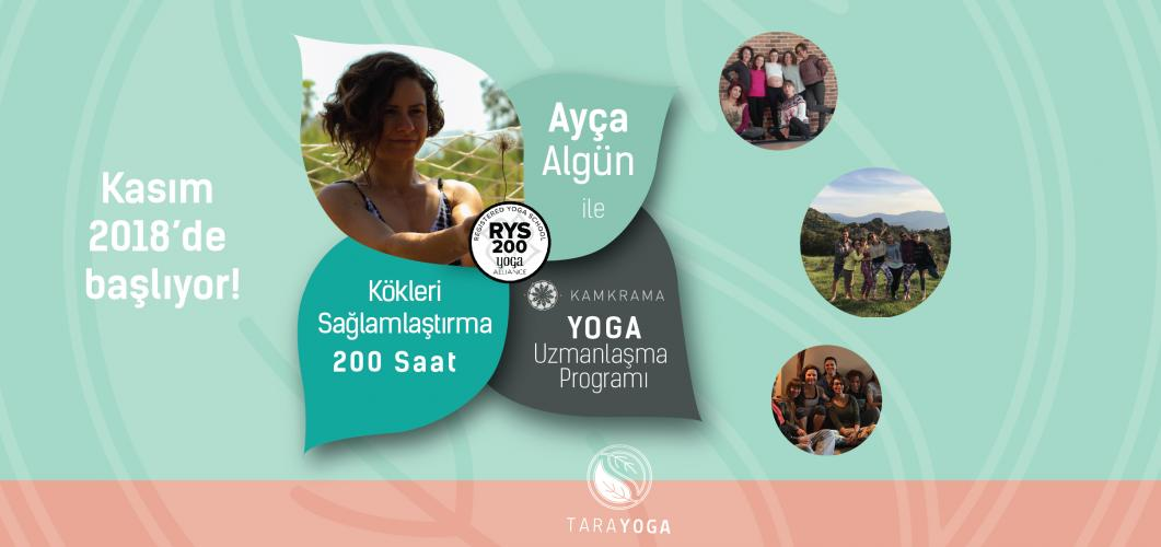 KamKrama Yoga Kökleri Sağlamlaştırma – 200 Saatlik Yoga Alliance Onaylı Eğitmenlik Eğitimi