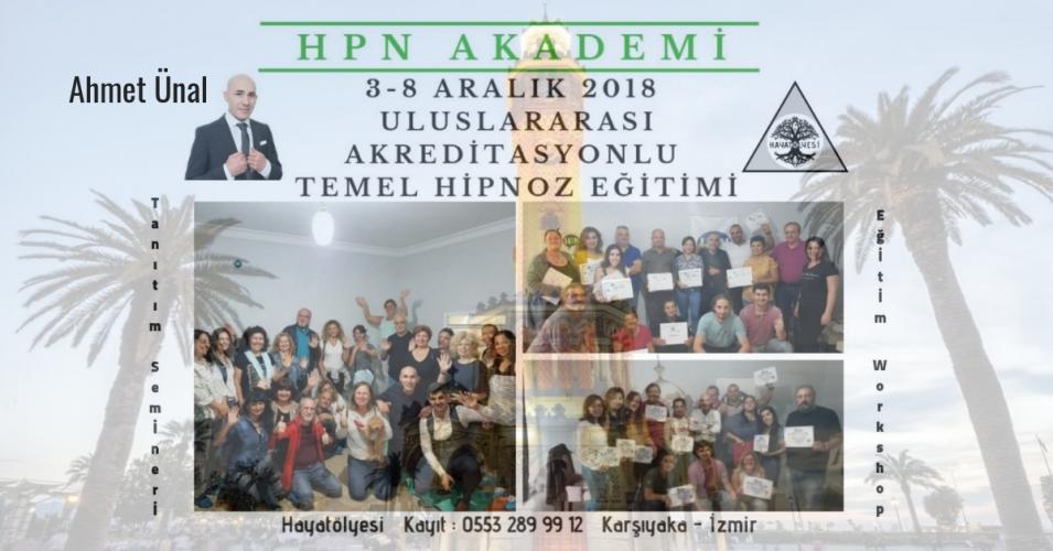 HPN Akademi  Uluslararası Akreditasyonlu Temel Hipnoz Eğitimi
