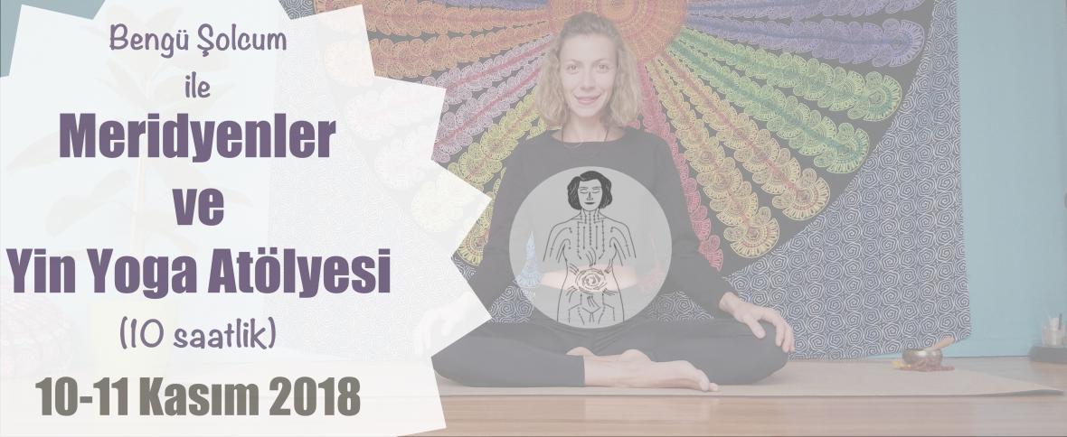 Meridyenler ve Yin Yoga Atölyesi (10 saat) 'İzmir'