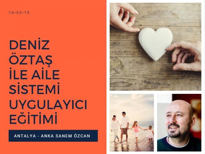 Aile Sistemi Çalışması Uygulayıcı Eğitimi – 1. Seviye (Antalya)