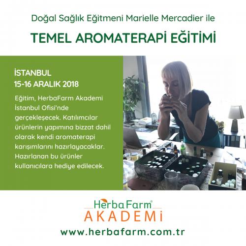 Temel Aromaterapi Eğitimi Marielle Mercadier