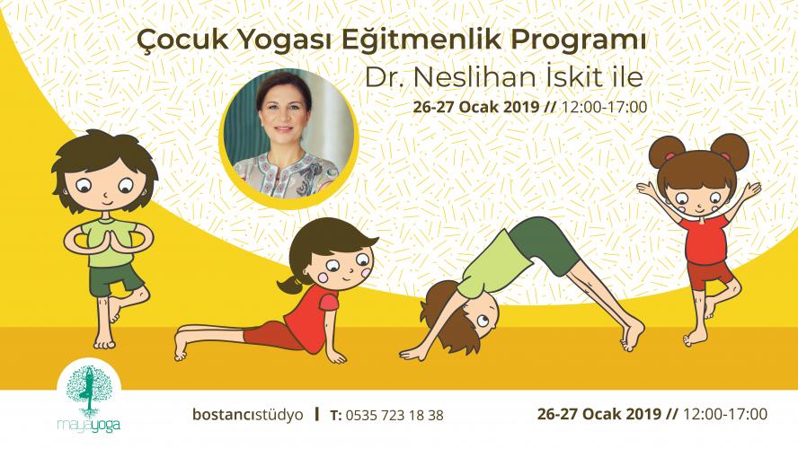 Çocuk Yogası Eğitmenlik Kursu