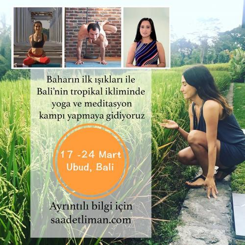 Bali Yoga ve Meditasyon Kampı