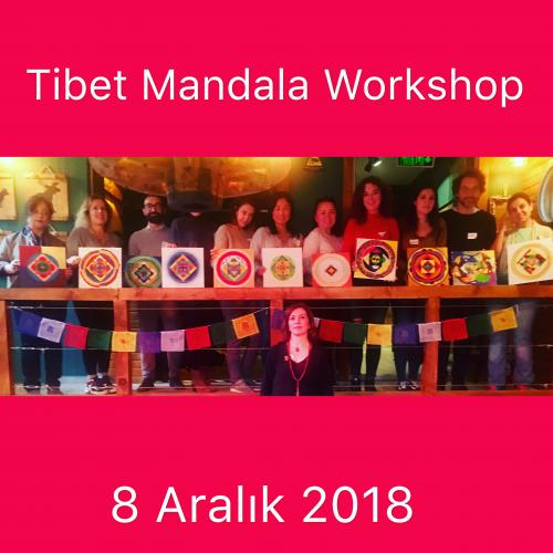 Tibet Mandala Workshop Hatice Türkeli