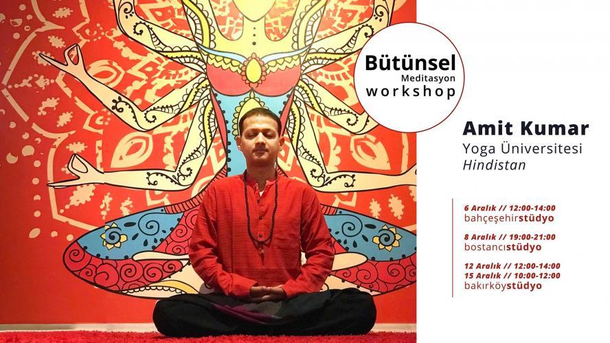 Workshop Serisi I: Bütünsel Meditasyon I Cyclic Meditation
