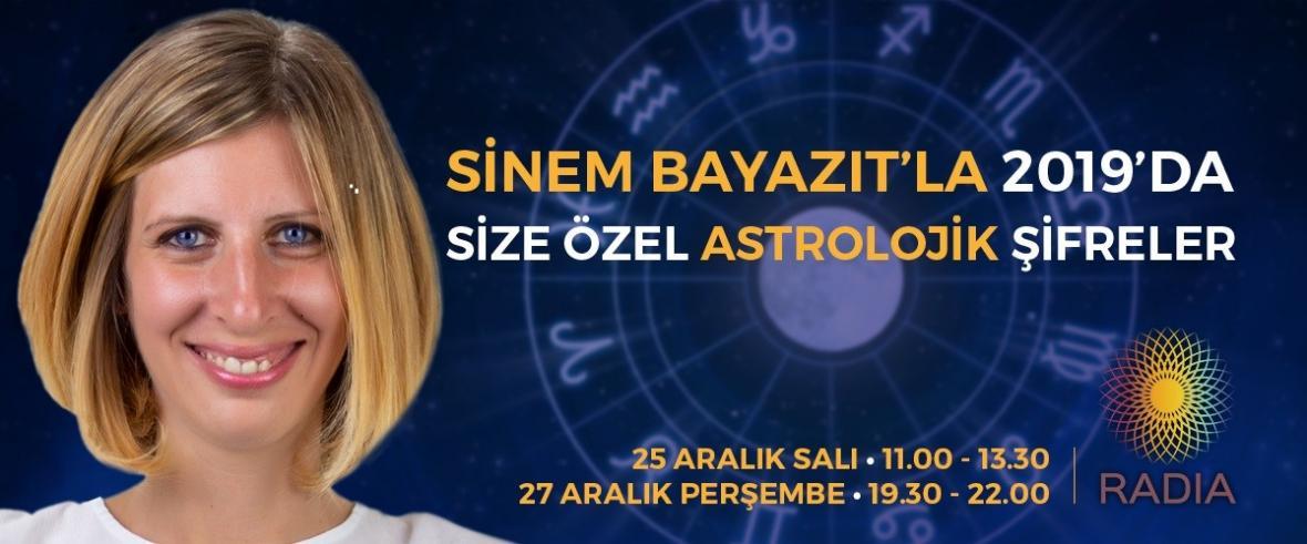 2019'da Size Özel Astrolojik Şifreler