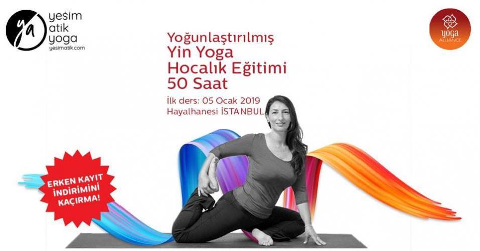 Yoğunlaştırılmış Yin Yoga Eğitimi 50 saat