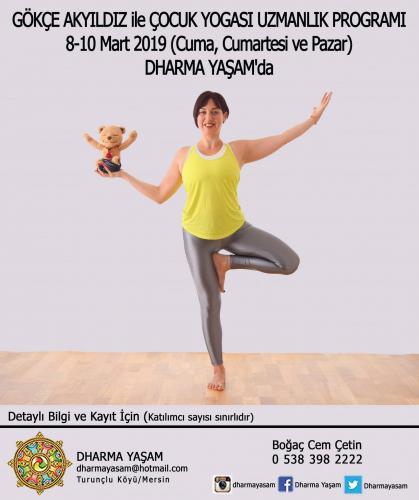 Çocuk Yogası Uzmanlık Programı 30 Saat (YA) Mersin