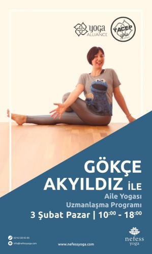 Aile Yogası Uzmanlık Programı Gökçe C. Akyıldız