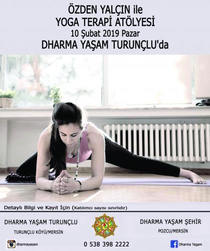 Özden Yalçın ile Yoga Terapi Atölyesi