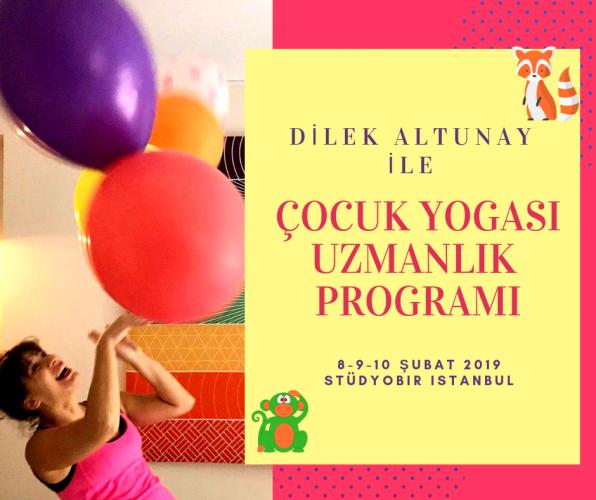 Çocuk Yogası Uzmanlık Programı-Ataşehir Dilek Altunay