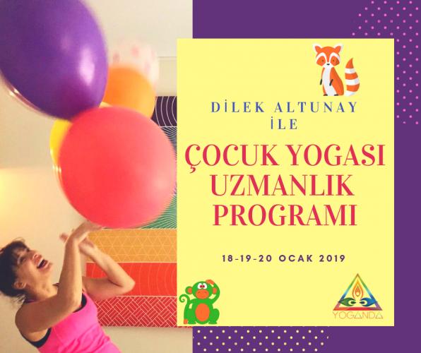 Çocuk Yogası Uzmanlık Programı-Yeşilyurt