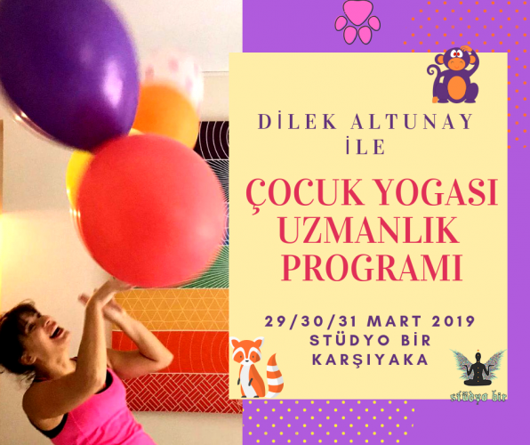 Çocuk Yogası Uzmanlık Programı-izmir