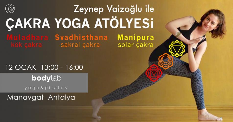 Zeynep Vaizoğlu ile Çakra Yoga Atölyesi