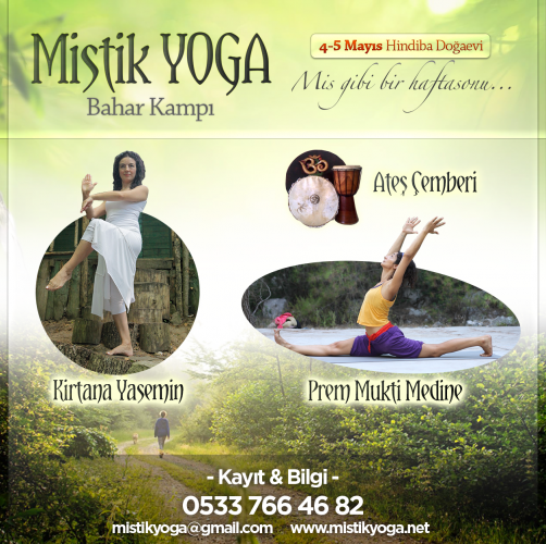 Mistik Yoga Bahar Kampı Kirtana Yasemin