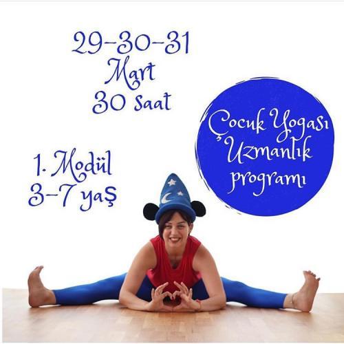 Çocuk Yogası Uzmanlık Programı 30 Saat