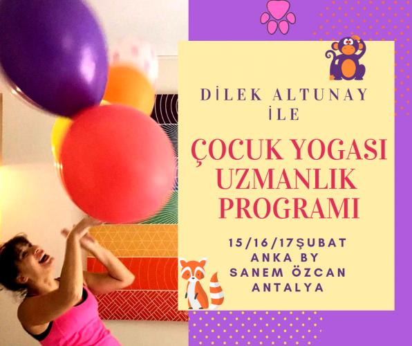 Çocuk Yogası Uzmanlık Programı- Antalya