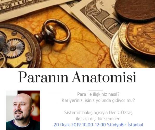 Paranın Anatomisi Semineri – İstanbul