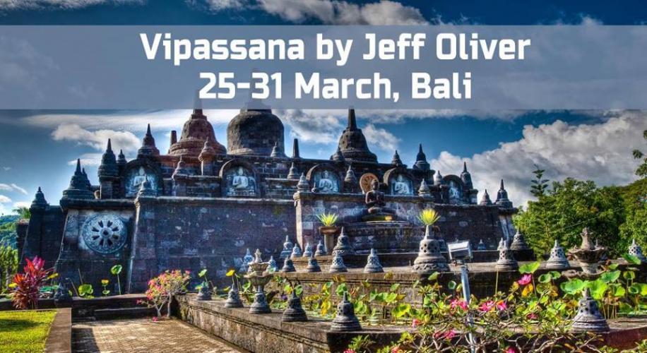 Bali Vipassana by Jeff Oliver