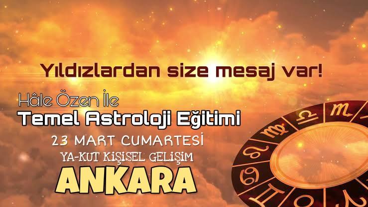 Hâle Özen ile Temel Seviye Astroloji Eğitimi