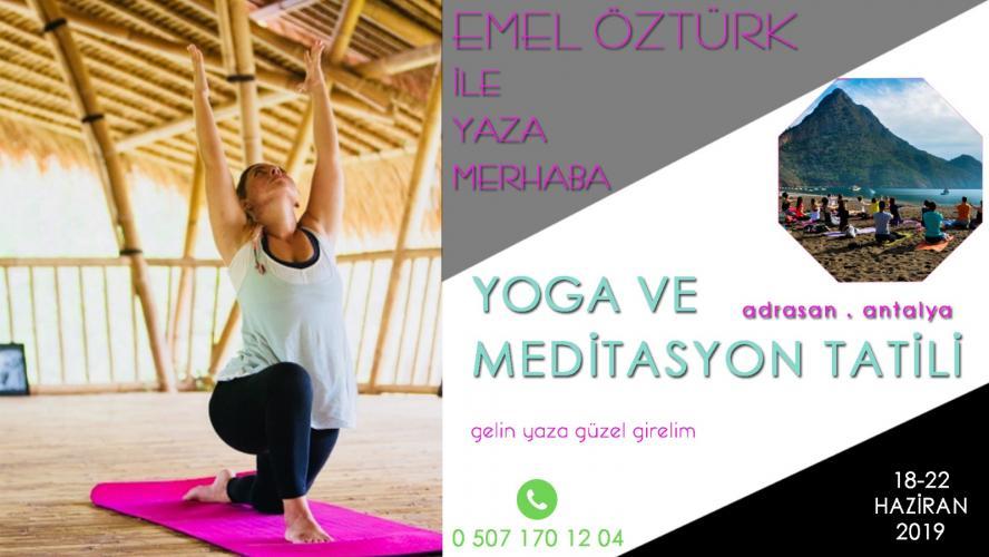 Adrasan, Yoga ve Meditasyon Tatili