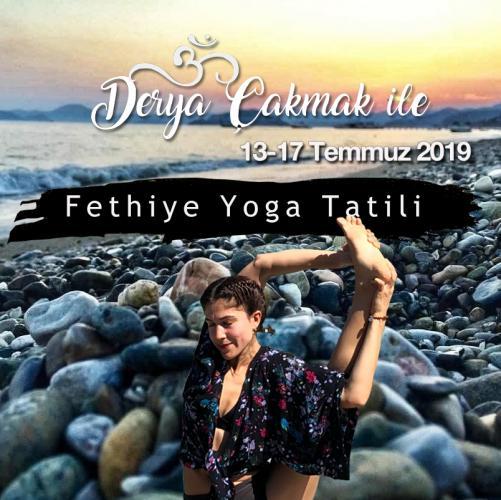 Derya Çakmak Yoga Tatili