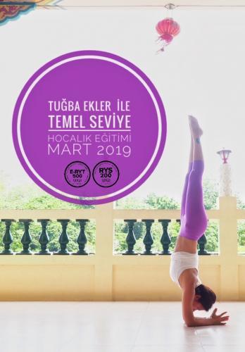 Yoga Temel Uzmanlık Eğitimi 200 Saatlik Tuğba Ekler