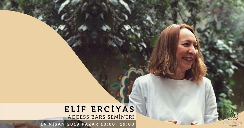 Elif Erciyas ile Access Bars Semineri