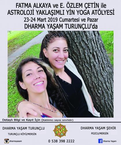 Astrolojik Yaklaşımlı Yin Yoga