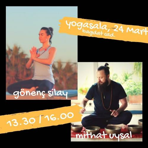 Ses Çanakları Meditasyonu Eşliğinde Bahar Yogası
