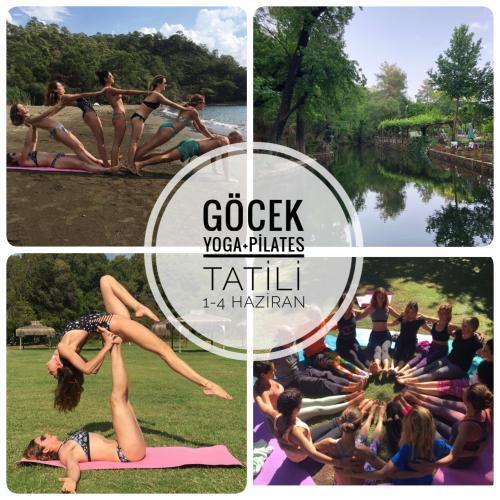 Yoga ve Pilates kampı