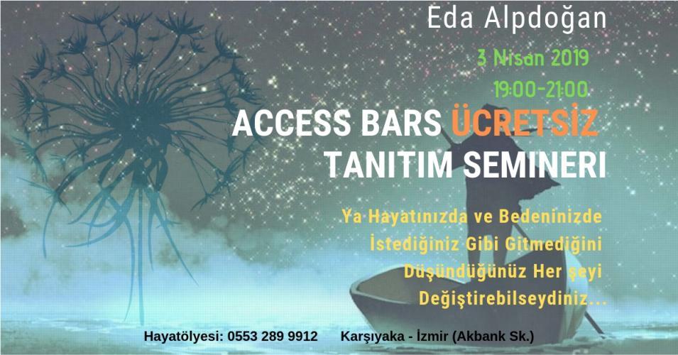 Eda Alpdoğan ile Access Bars Ücretsiz Tanıtım Semineri