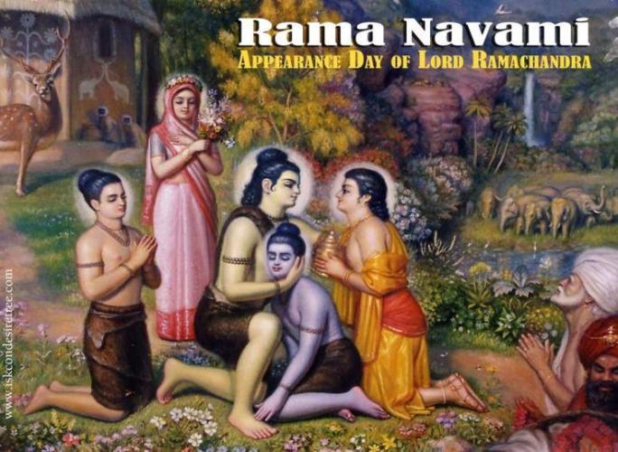 Rama Navami Festivali Kutlaması