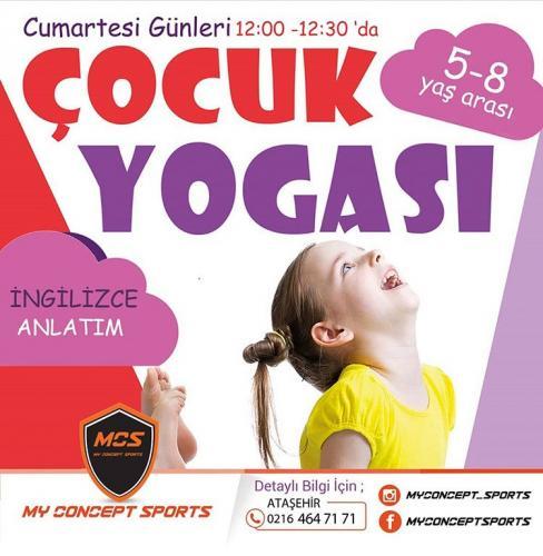 Ezgi Köylüoğlu ile İngilizce Çocuk Yogası Dersleri