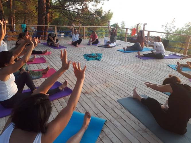 Bahara Olympos'ta Yoga kampı ile Merhaba