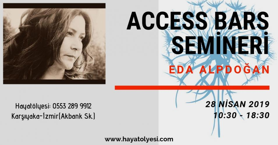 Eda Alpdoğan ile Access Bars Semineri