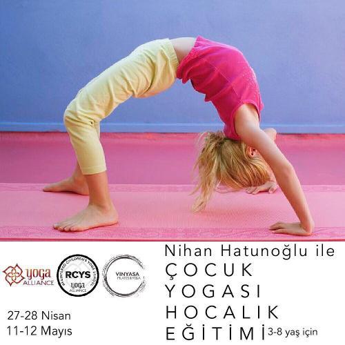 Yoga Allience Onaylı Çocuk Yogası Hocalık Eğitimi 3-8 Yaş İçin
