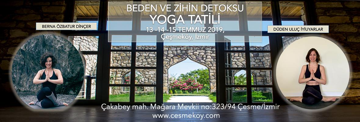 Çeşmeköy'de Beden ve Zihin Detoksu Yoga Tatili