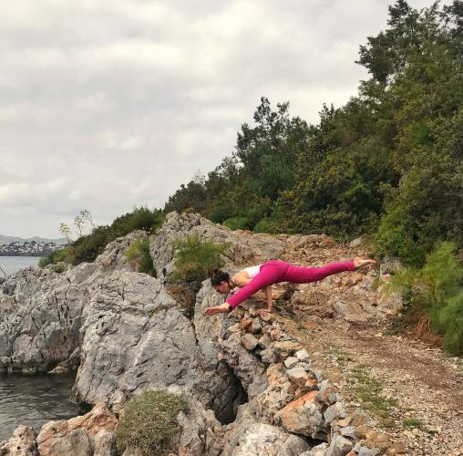 Tuğba Moripek ile Yoga ve Deniz Tatili