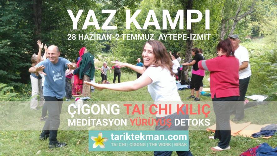 Yaz Kampı (Çigong, Tai Chi Kılıç, Meditasyon, Yürüyüş, Detoks)