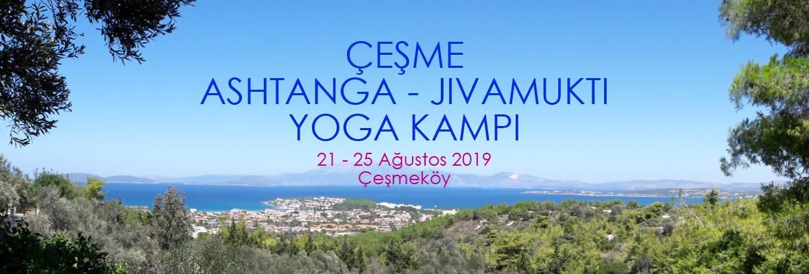 Çeşmeköy Ashtanga - Jivamukti Yoga Yaz Kampı Demet Yoruç