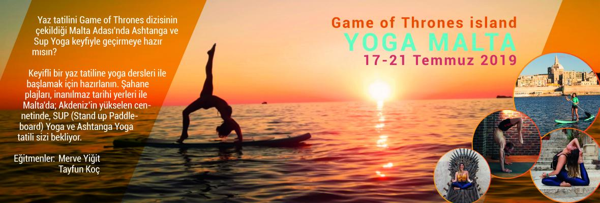 Malta Adası'nda Ashtanga ve Sup Yoga Keyfi