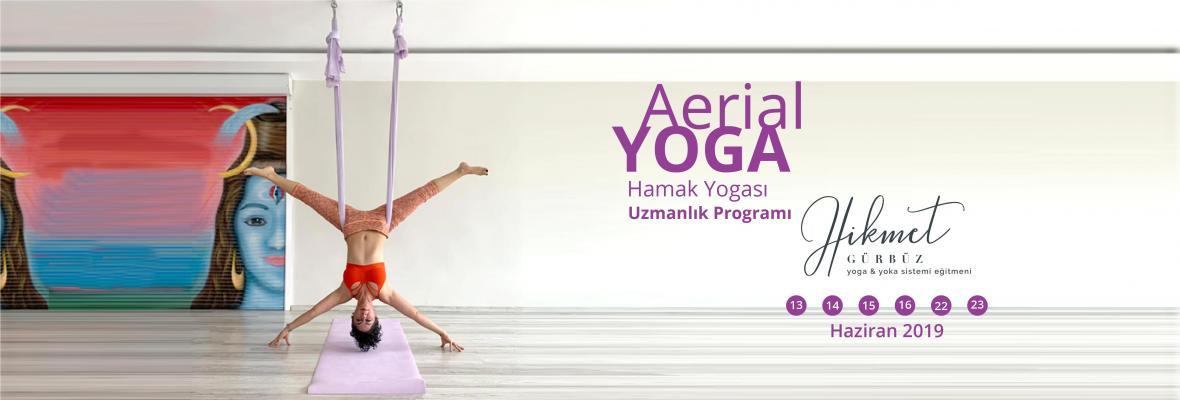 Aerial Yoga Hamak Yogası Uzmanlık Programı