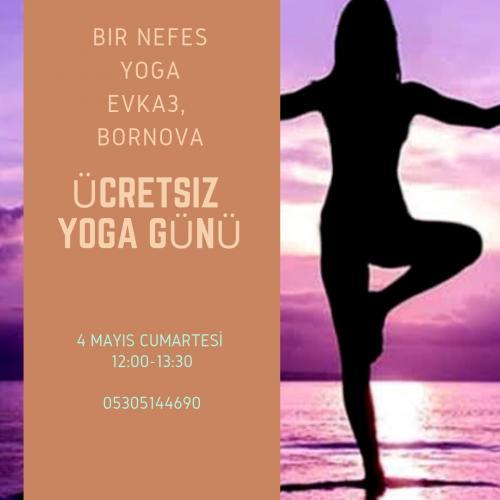 Ücretsiz Yoga Günü