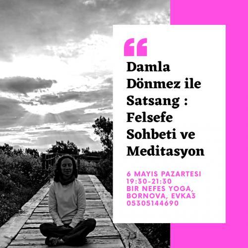 Satsang : Felsefe Sohbeti ve Meditasyon
