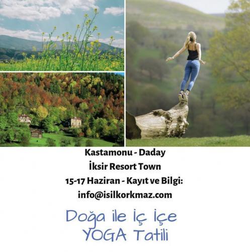 Doğa İle İç İçe Yoga Tatili