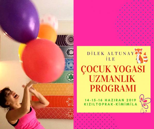 Çocuk Yogası Uzmanlık Programı- Kimimila Kızıltoprak