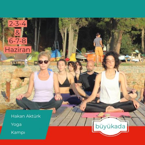 Bayramda Büyükada Yoga Kampı