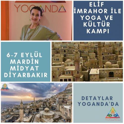 Elif İmrahor ile Yoga, Nefes ve Kültür Turu